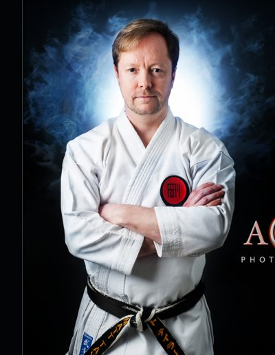 Karate instructor by ABLPhotography