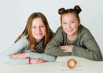 sisters- studio portrait