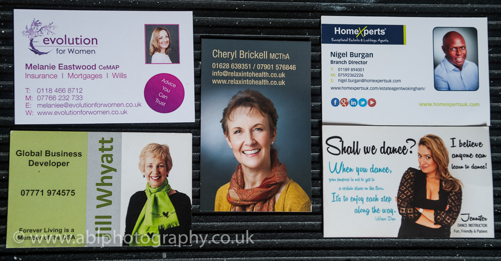 Why you should have your photograph on your business card?