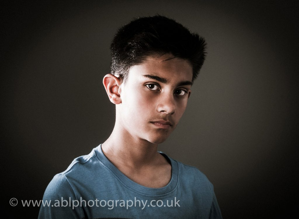 moody teenager by ABL Photography