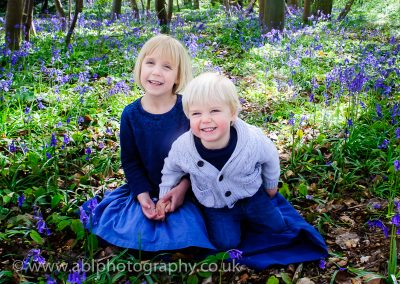 Bluebell photo-shoot by ABL Photography-brother and sister