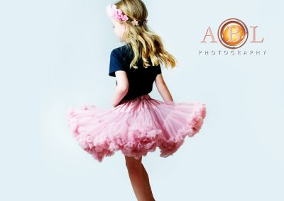 girl in pink skirt ABL Photography