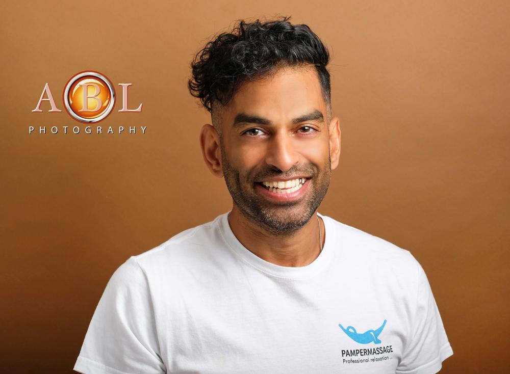 Massage Therapist Business Portrait