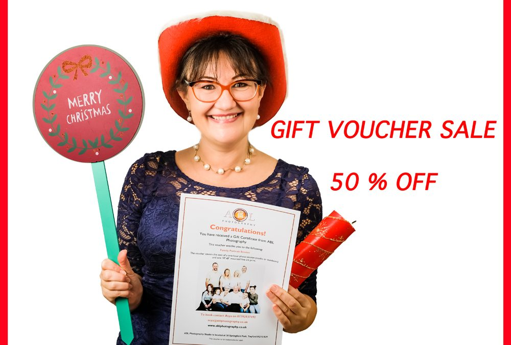 CHRISTMAS GIFT VOUCHER SALE